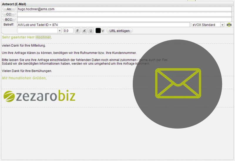 Mails mit dem Multikanal Clienten beantworten